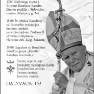 Panevėžio vyskupijos GAILESTINGUMO ŠVENTĖ